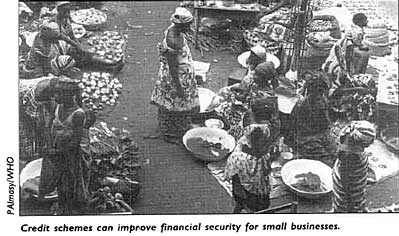 Credit schemes can improve financial security for small businesses.